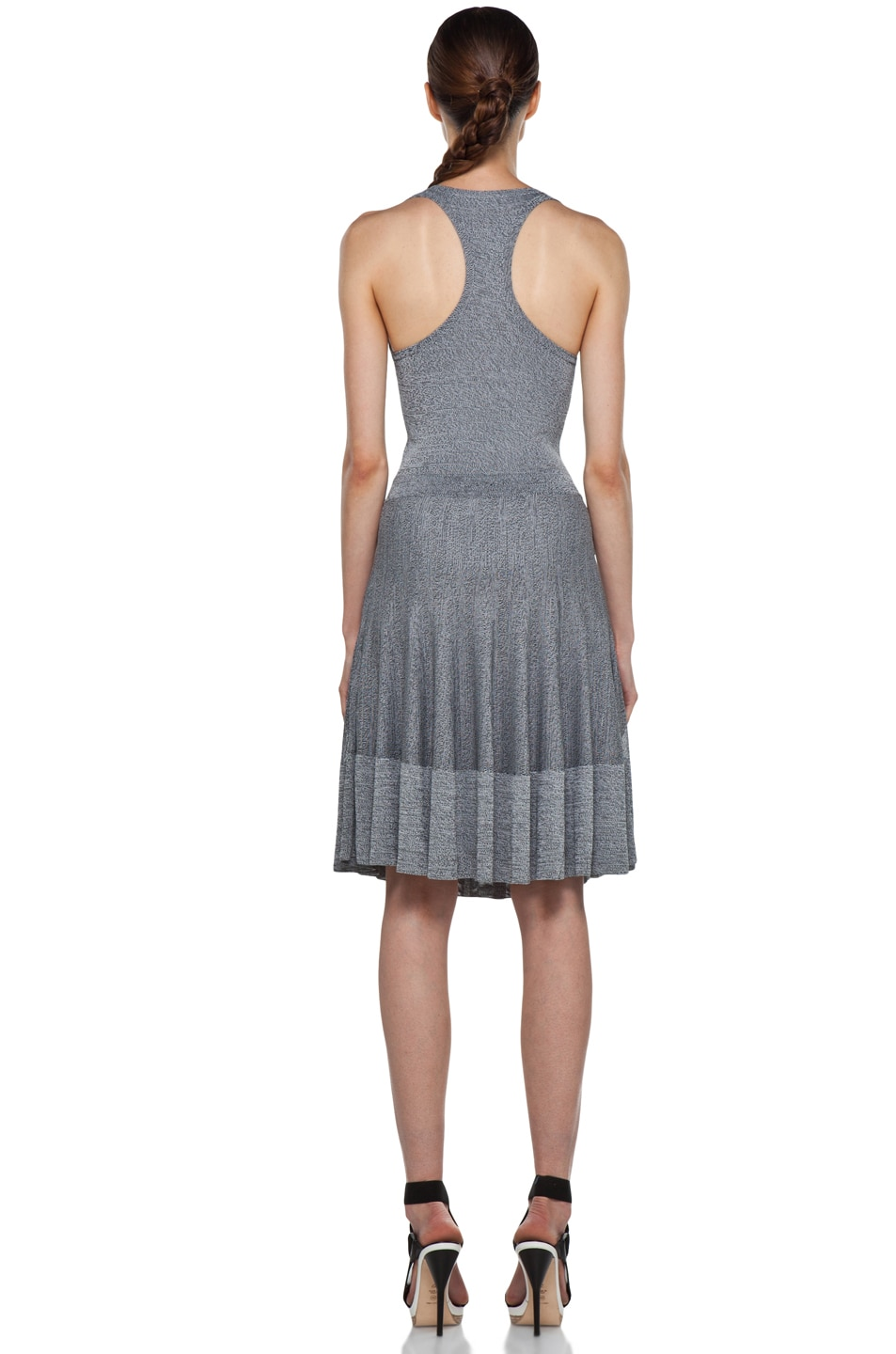 Image 4 of A.L.C. Ariana Dress in Heather Black