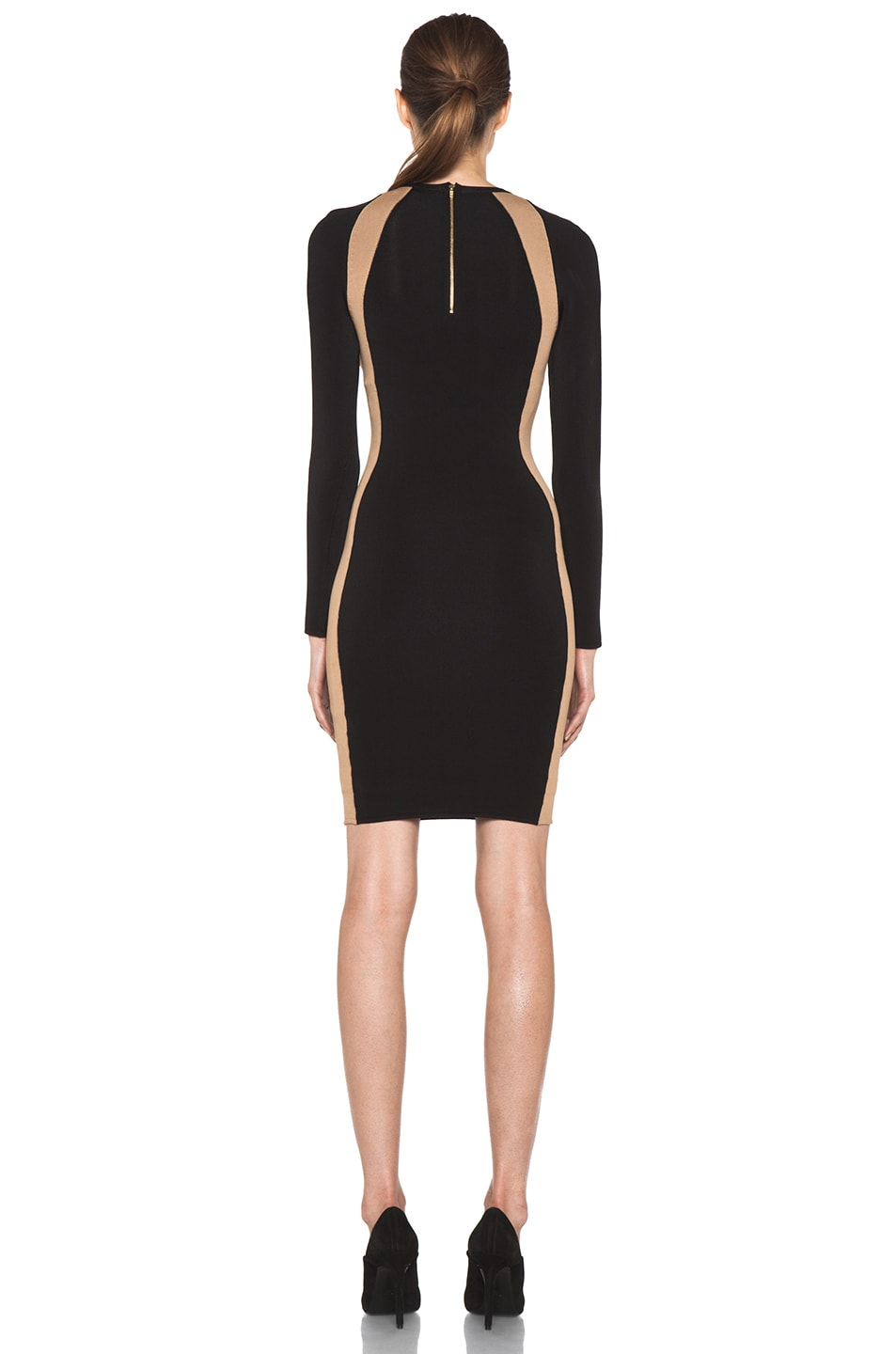 Image 4 of A.L.C. Cullun Dress in Black & Nude
