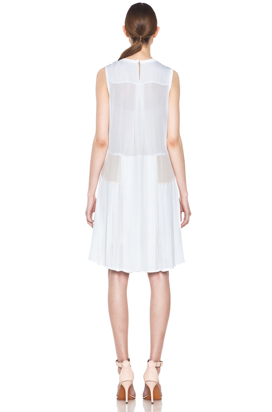 Image 4 of A.L.C. Sapphire Dress in White & Pink