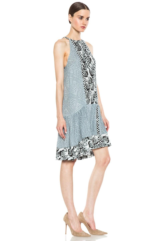 Image 3 of A.L.C. Borchers Dress in White & Black