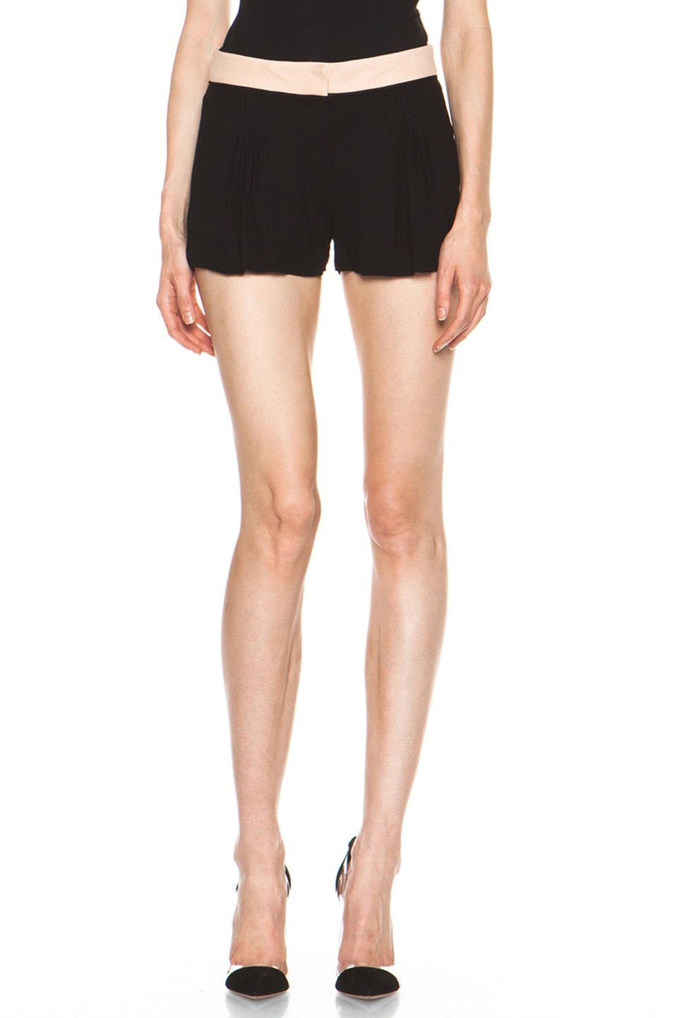 Image 1 of A.L.C. Kent Shorts in Black