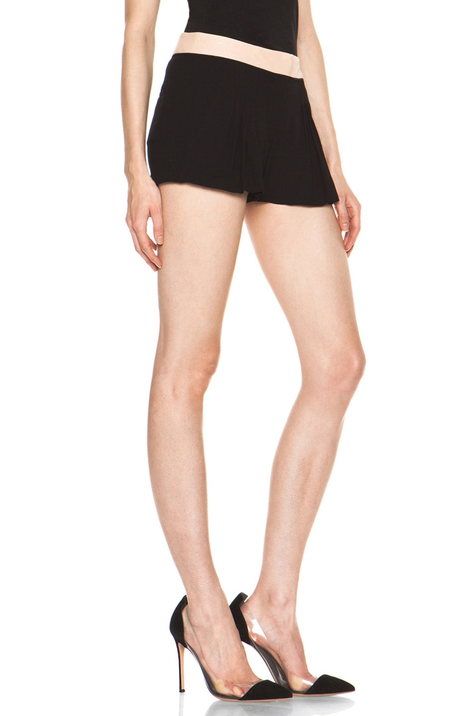Image 3 of A.L.C. Kent Shorts in Black