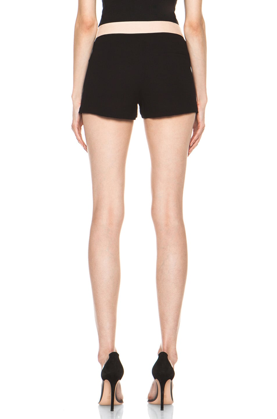 Image 4 of A.L.C. Kent Shorts in Black