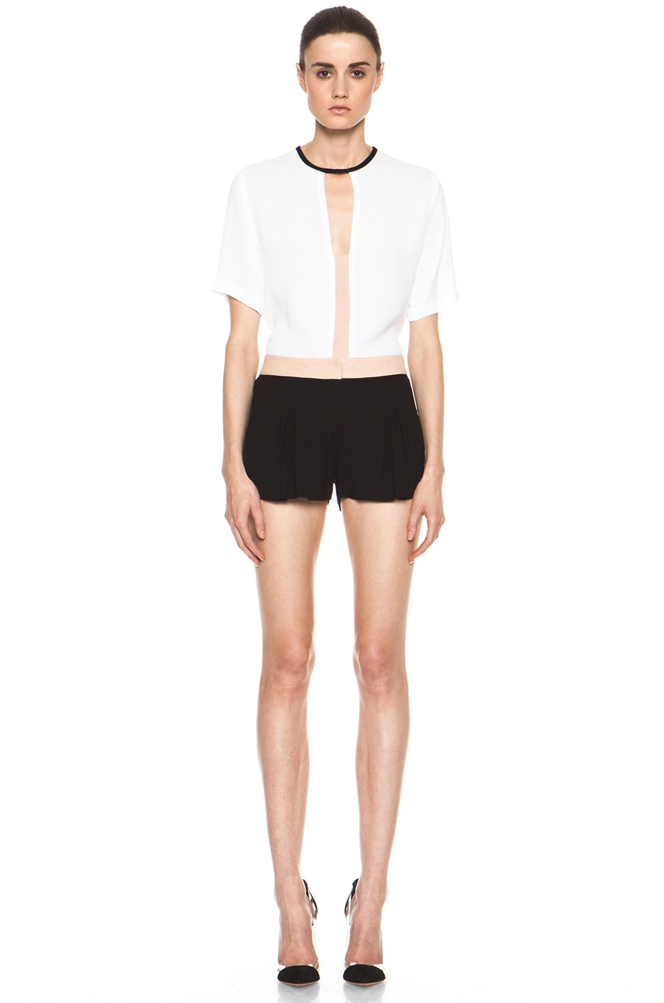 Image 5 of A.L.C. Kent Shorts in Black