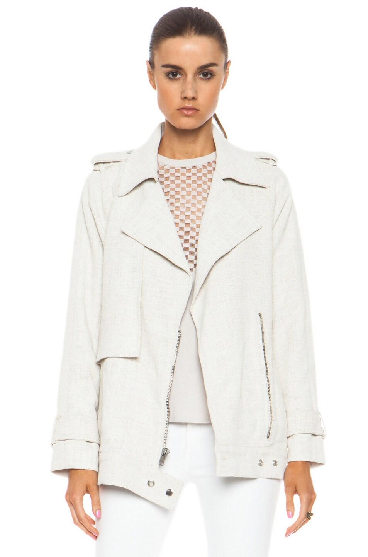 Image 1 of A.L.C. Kral Viscose-Blend Jacket in White