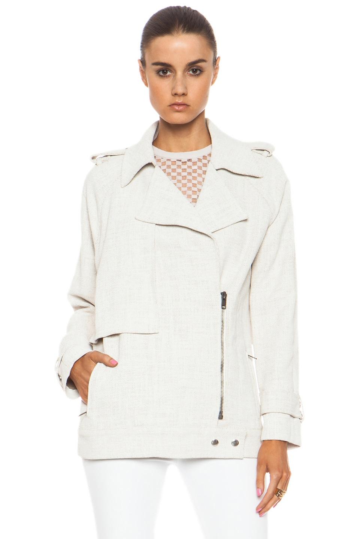 Image 2 of A.L.C. Kral Viscose-Blend Jacket in White