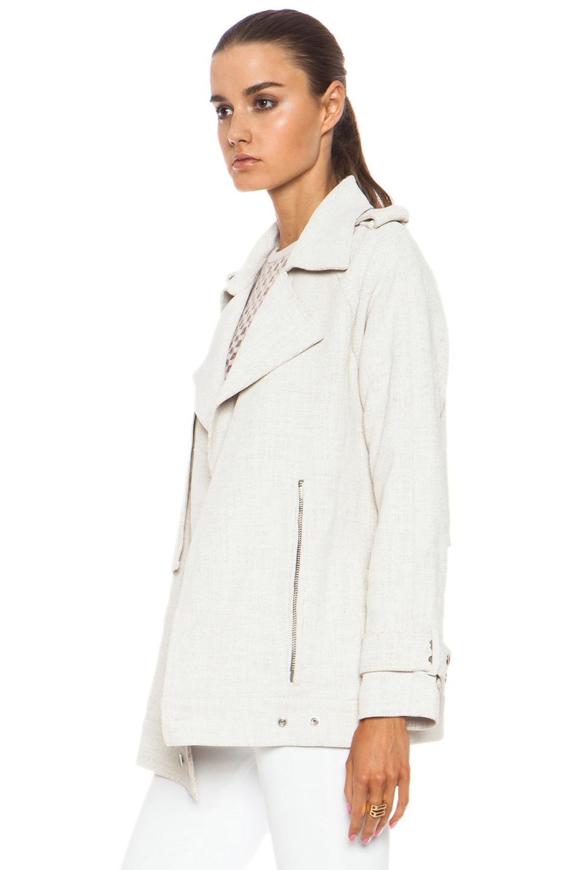 Image 3 of A.L.C. Kral Viscose-Blend Jacket in White