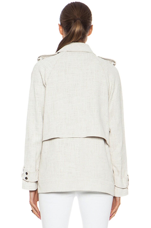 Image 5 of A.L.C. Kral Viscose-Blend Jacket in White