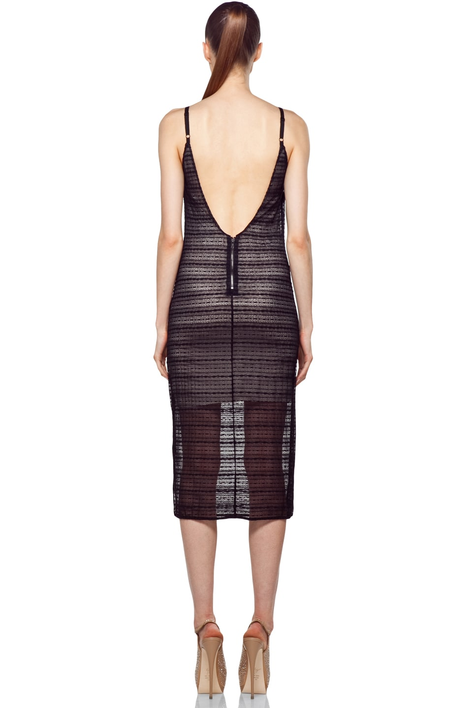 Image 4 of Alice + Olivia Villa Dress in Black