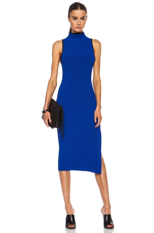 Image 1 of Altuzarra Mishima Viscose-Blend Dress in Cobalt