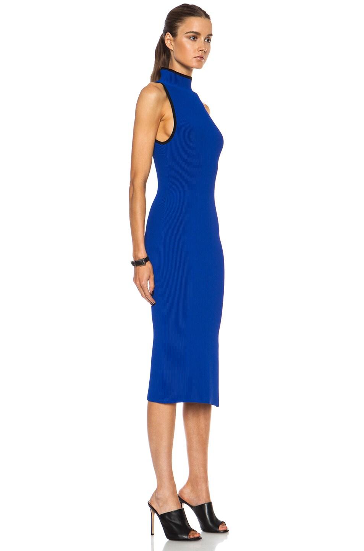 Image 3 of Altuzarra Mishima Viscose-Blend Dress in Cobalt