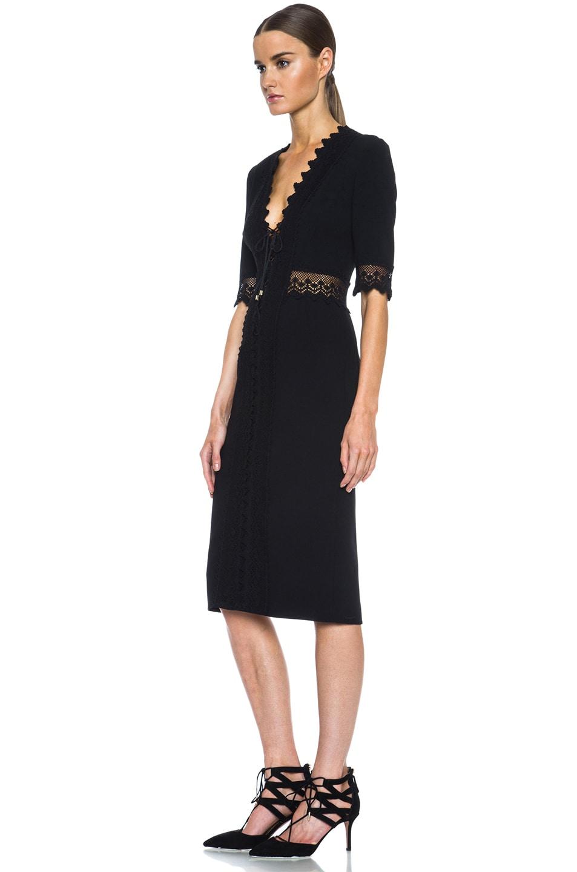 Image 2 of Altuzarra Greco Triacetate-Blend Dress in Black