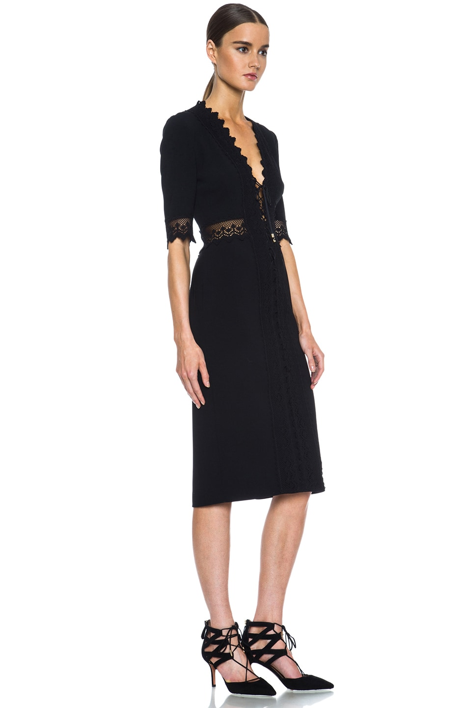 Image 3 of Altuzarra Greco Triacetate-Blend Dress in Black