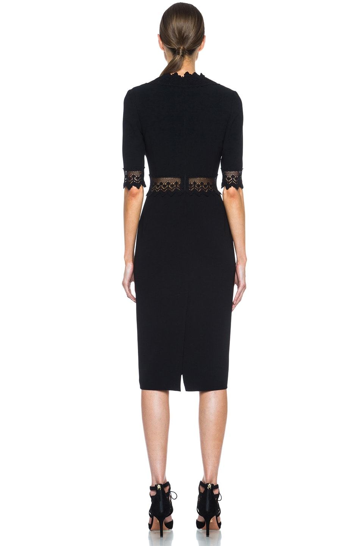 Image 4 of Altuzarra Greco Triacetate-Blend Dress in Black