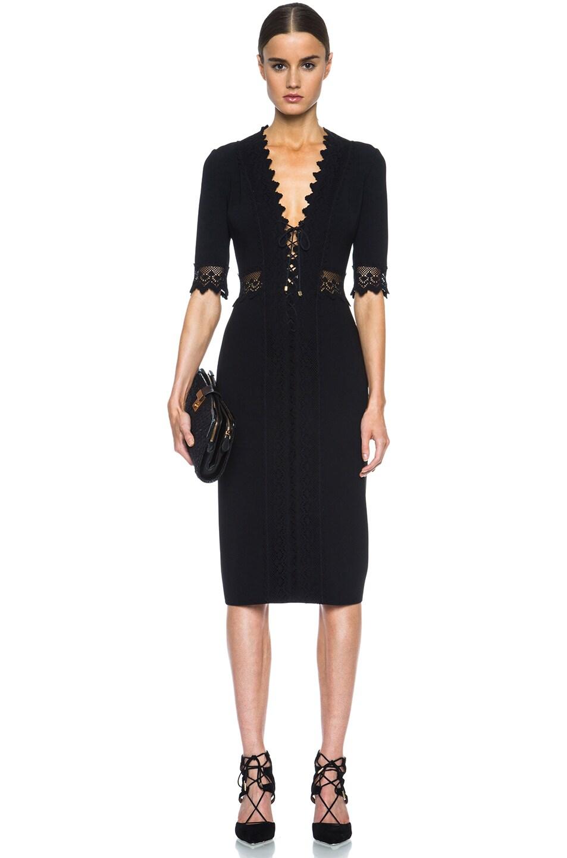 Image 5 of Altuzarra Greco Triacetate-Blend Dress in Black