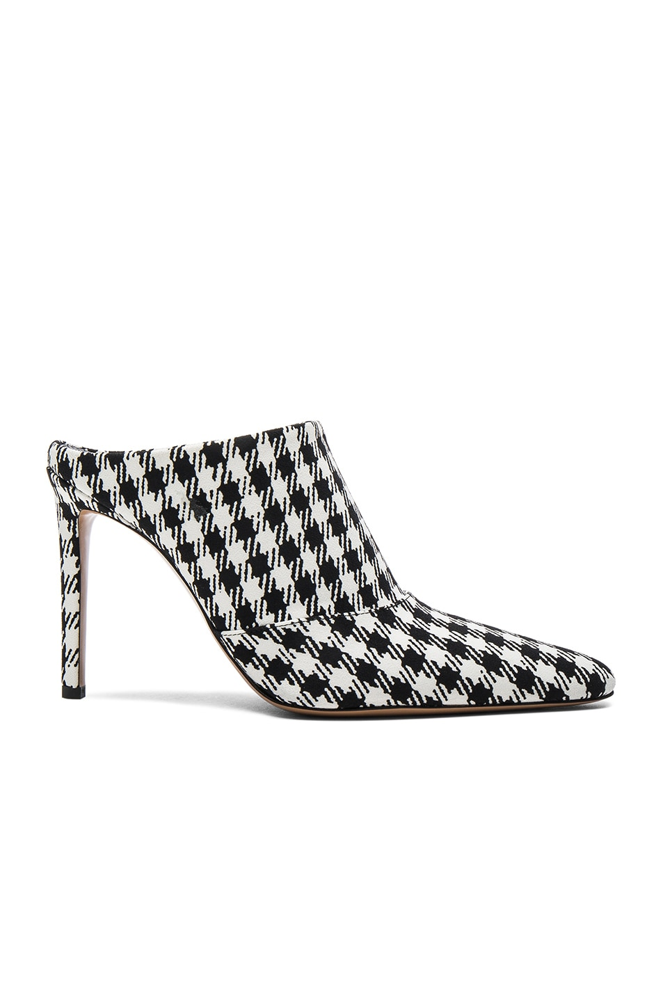 Image 1 of Altuzarra Canvas Davidson Mules in Black & White