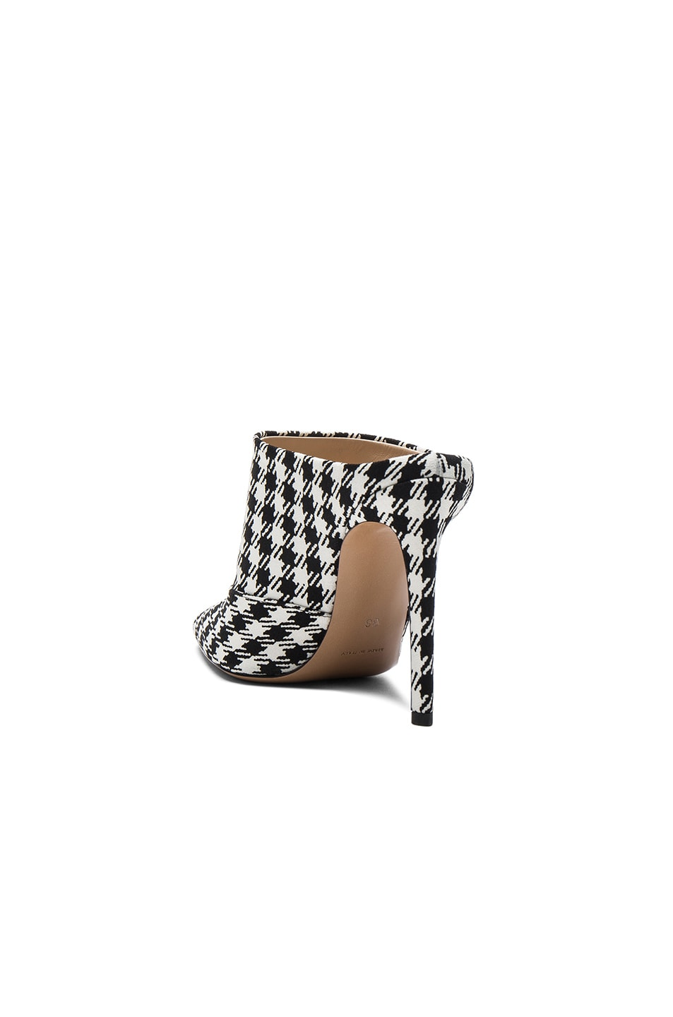 Image 3 of Altuzarra Canvas Davidson Mules in Black & White