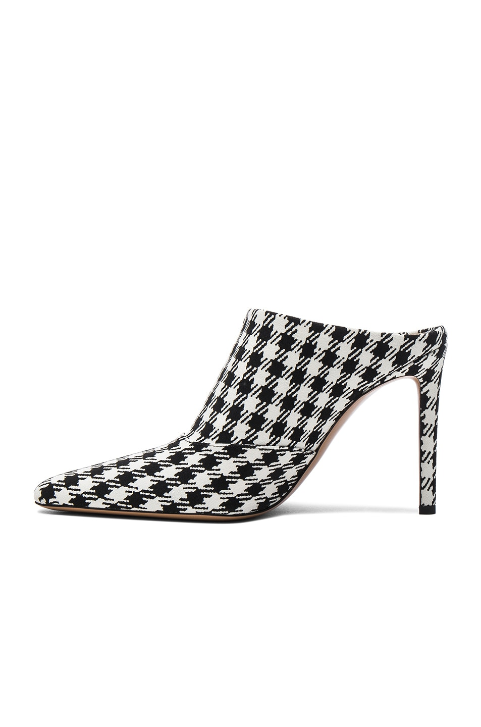 Image 5 of Altuzarra Canvas Davidson Mules in Black & White