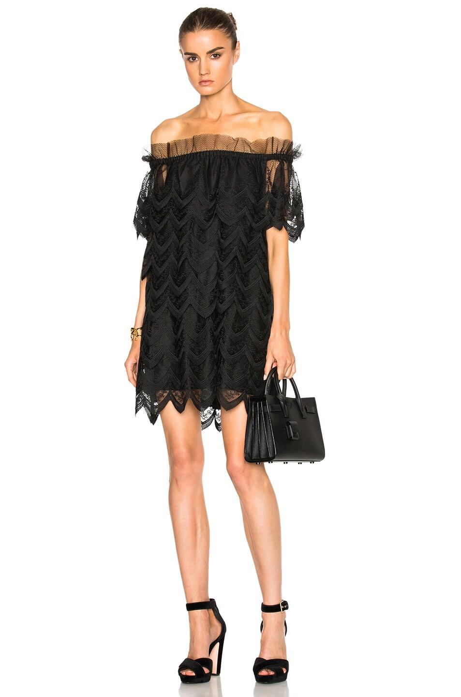 Alexis off the shoulder lace dress – Dress blog Edin