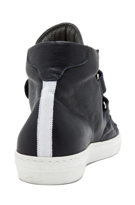 Image 3 of Alexander McQueen High Top Velcro Strap Sneaker in Endless Blue