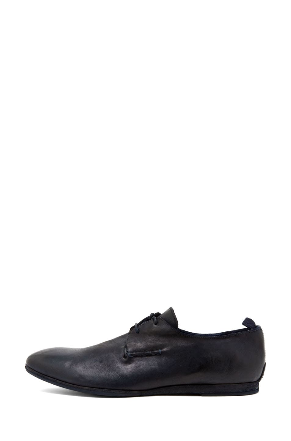 Image 1 of Alexander McQueen Lace Up Oxford in Navy