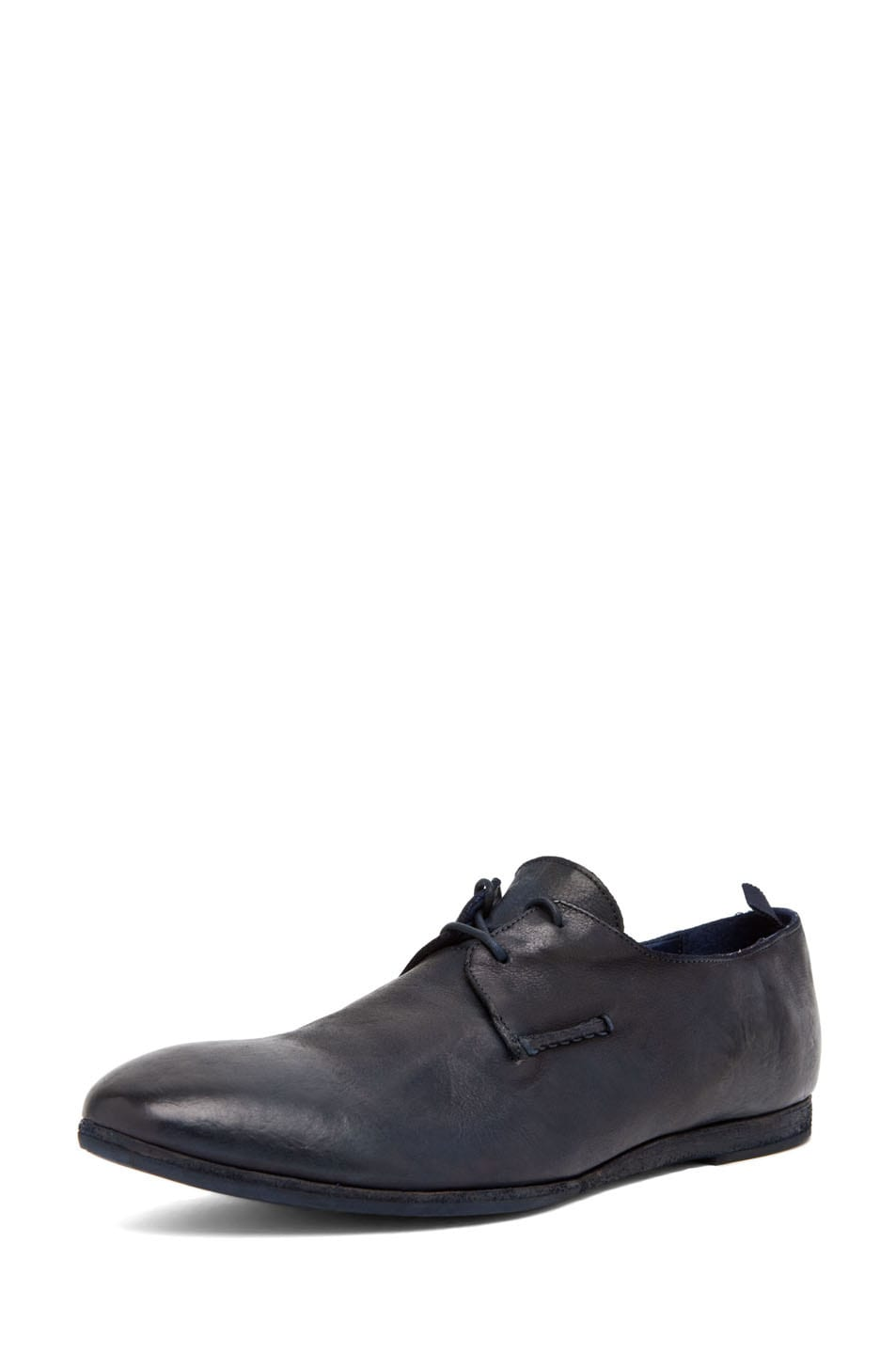 Image 2 of Alexander McQueen Lace Up Oxford in Navy
