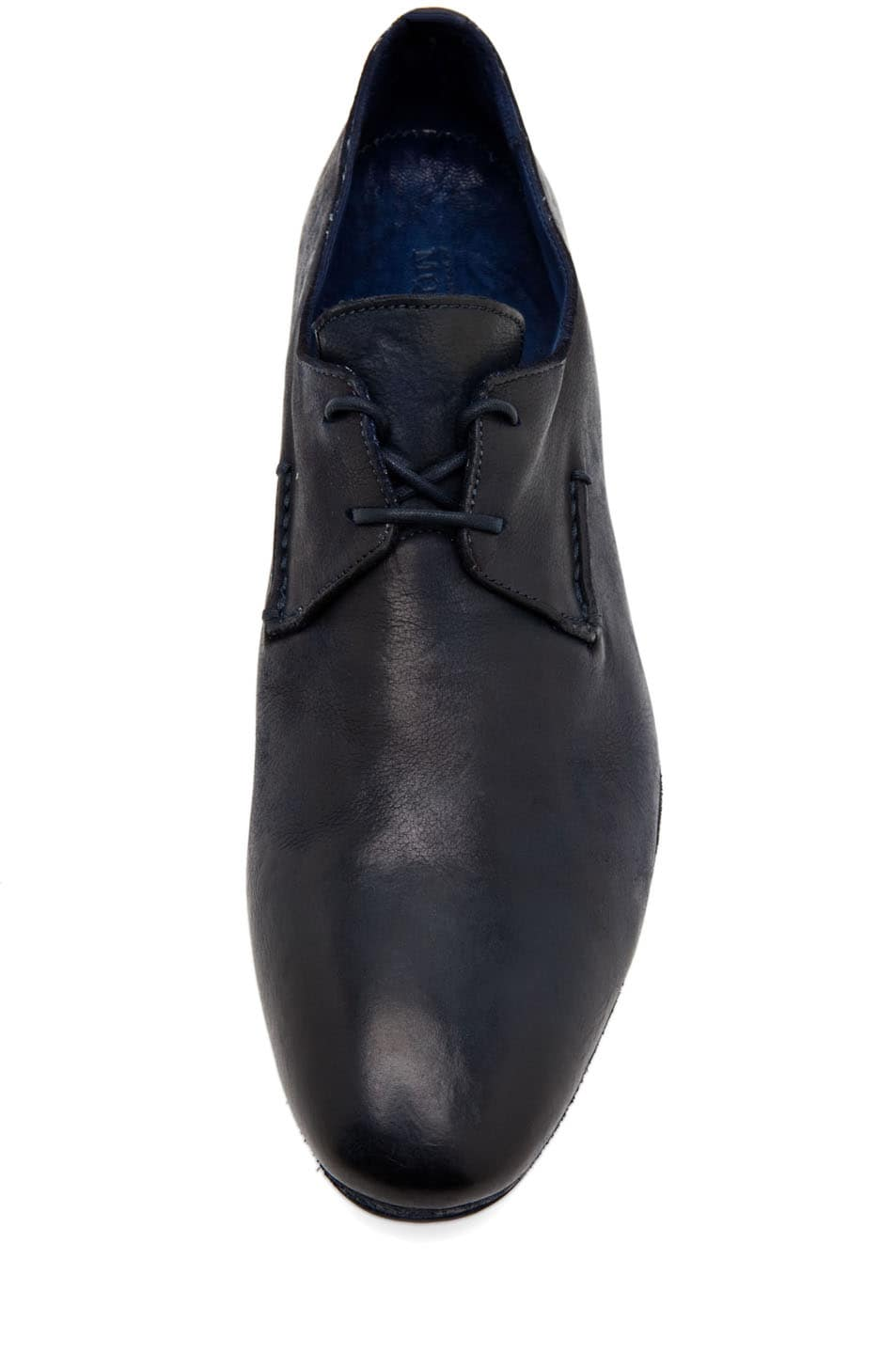 Image 4 of Alexander McQueen Lace Up Oxford in Navy