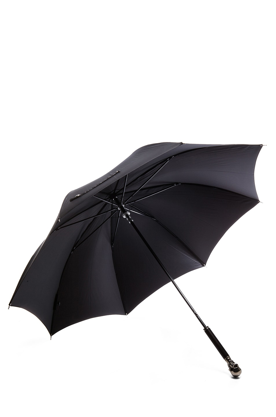Image 3 of Alexander McQueen Umbrella Skull in Black