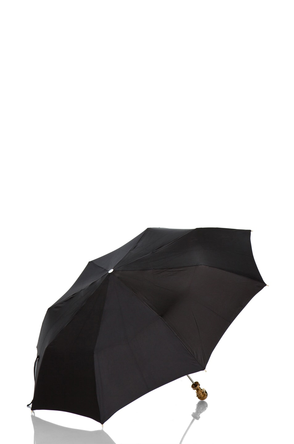 Image 5 of Alexander McQueen Skull Umbrella in Black