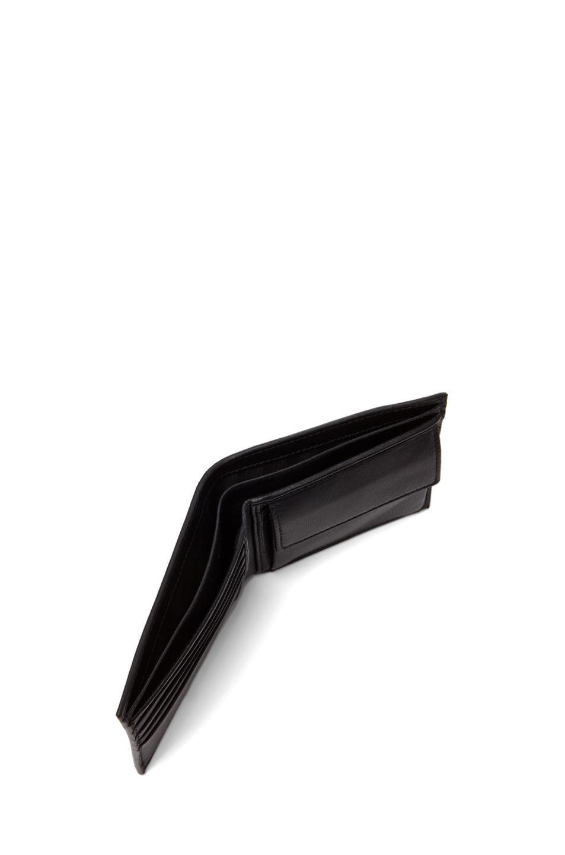Image 5 of Alexander McQueen Ribcage Wallet in Black