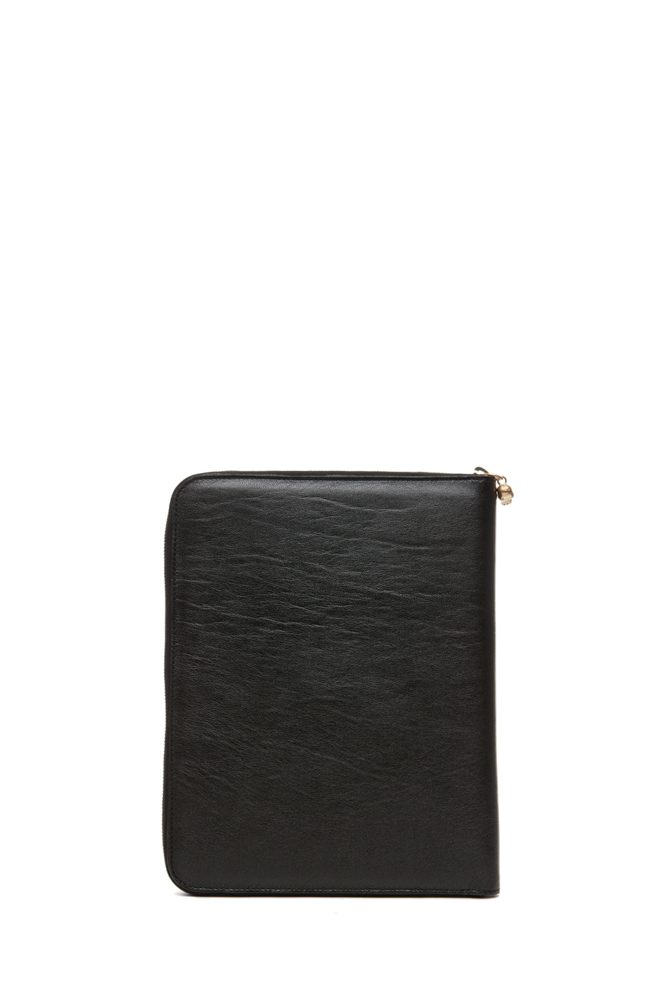 Image 3 of Alexander McQueen Zip Around iPad Case in Black