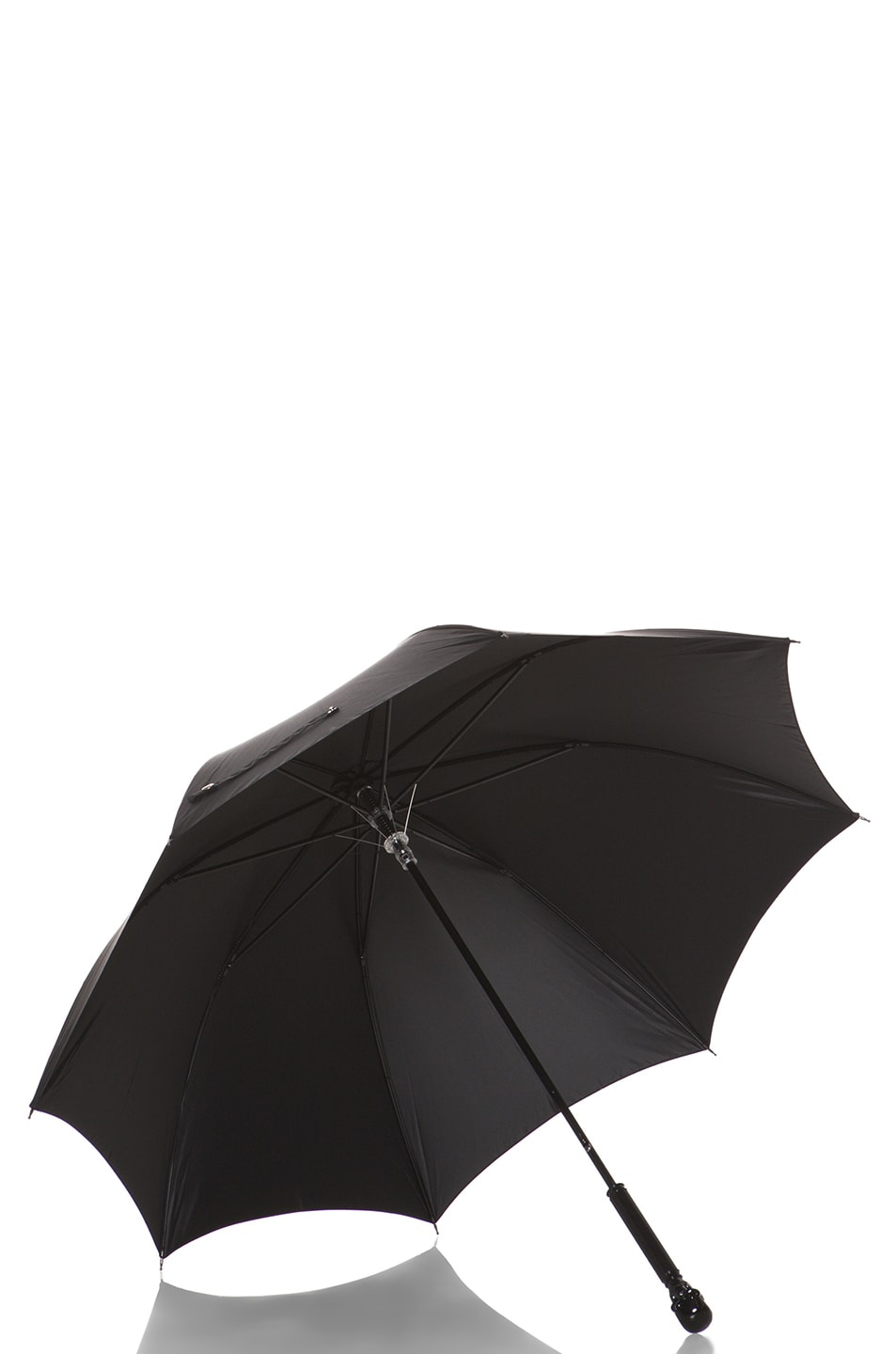 Image 3 of Alexander McQueen Skull Umbrella in Black