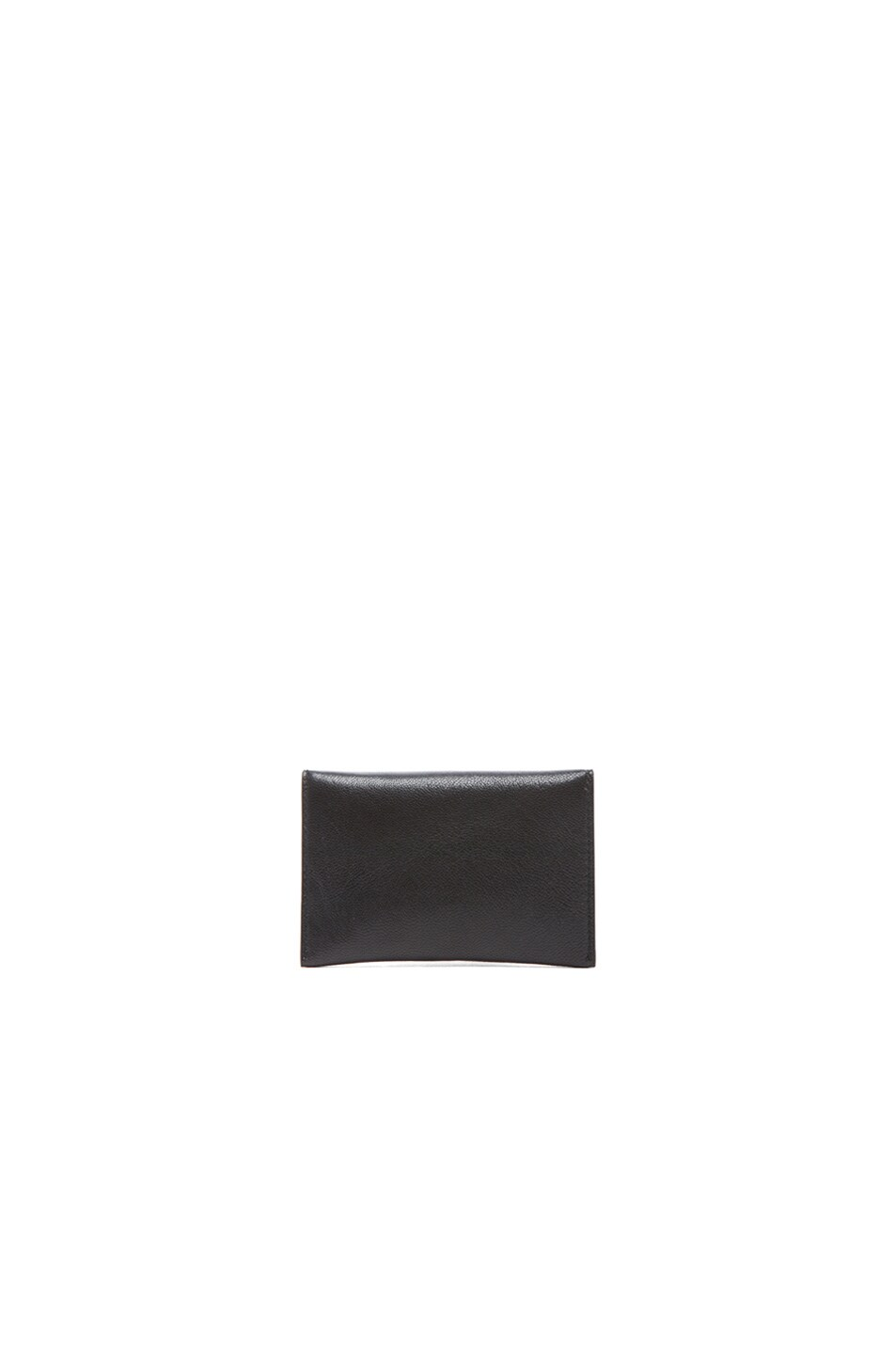 Image 2 of Alexander McQueen Envelope Card Holder in Black