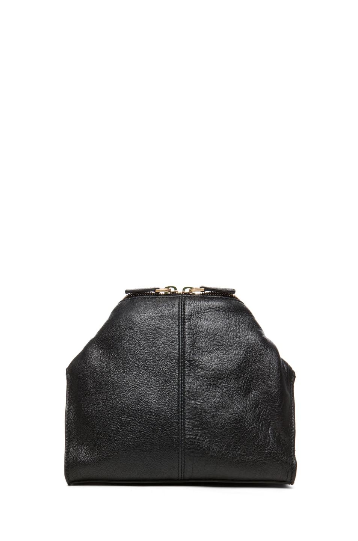 Image 2 of Alexander McQueen De Manta Cosmetics Case in Black