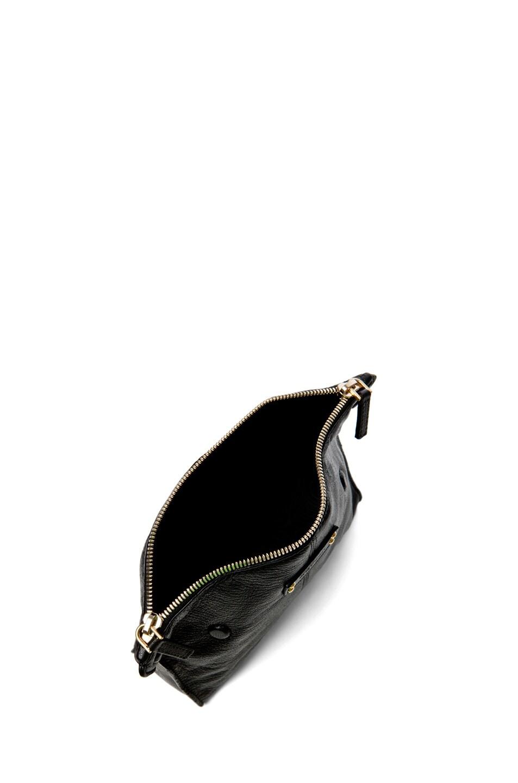 Image 4 of Alexander McQueen De Manta Cosmetics Case in Black