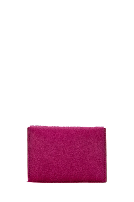 Image 2 of Alexander McQueen Envelope Card Holder in Pink