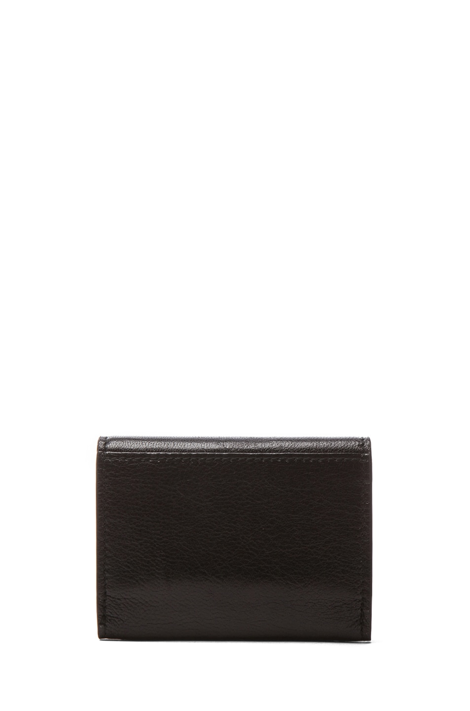 Image 2 of Alexander McQueen Fold Over Card Holder in Black