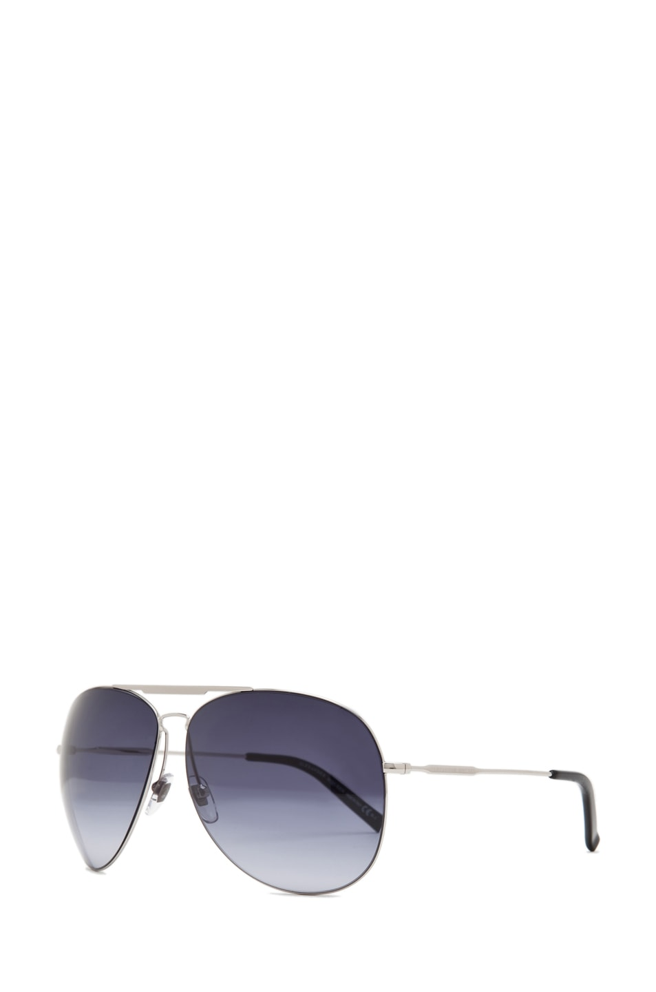 Image 2 of Alexander McQueen 4173 Sunglasses in Palladium