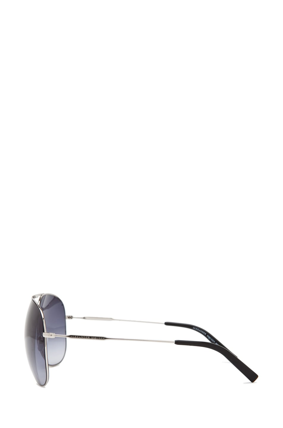Image 3 of Alexander McQueen 4173 Sunglasses in Palladium