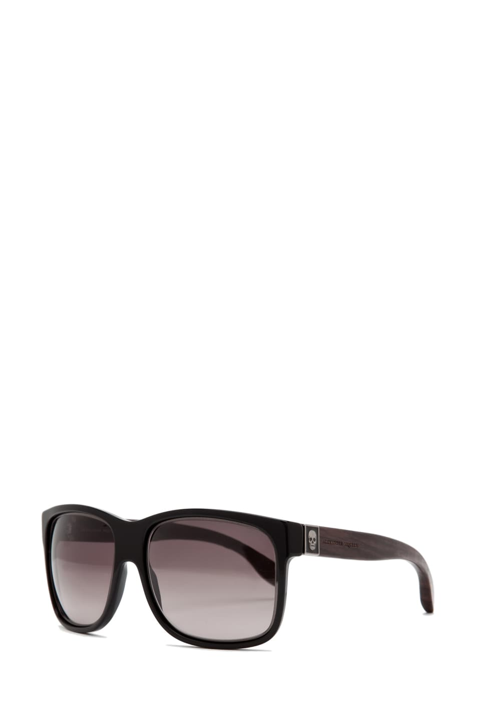 Image 2 of Alexander McQueen 4187 Sunglasses in Black