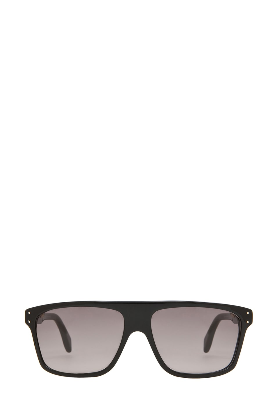 Image 1 of Alexander McQueen 4209 Sunglasses in Black & Gray Gradient