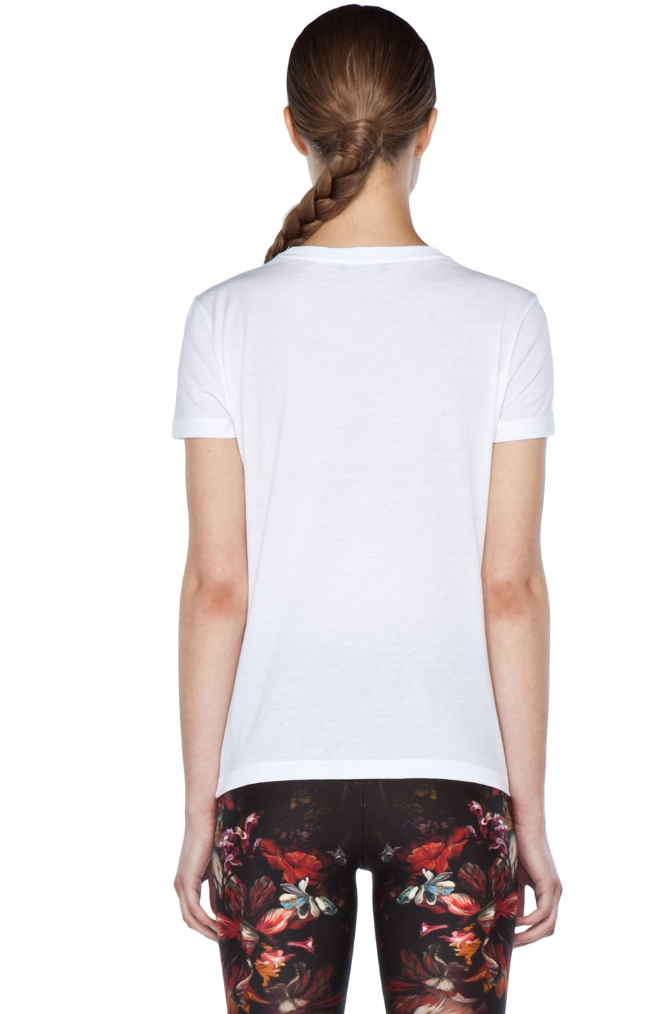 Image 4 of Alexander McQueen Unicorn Skull Tee in White