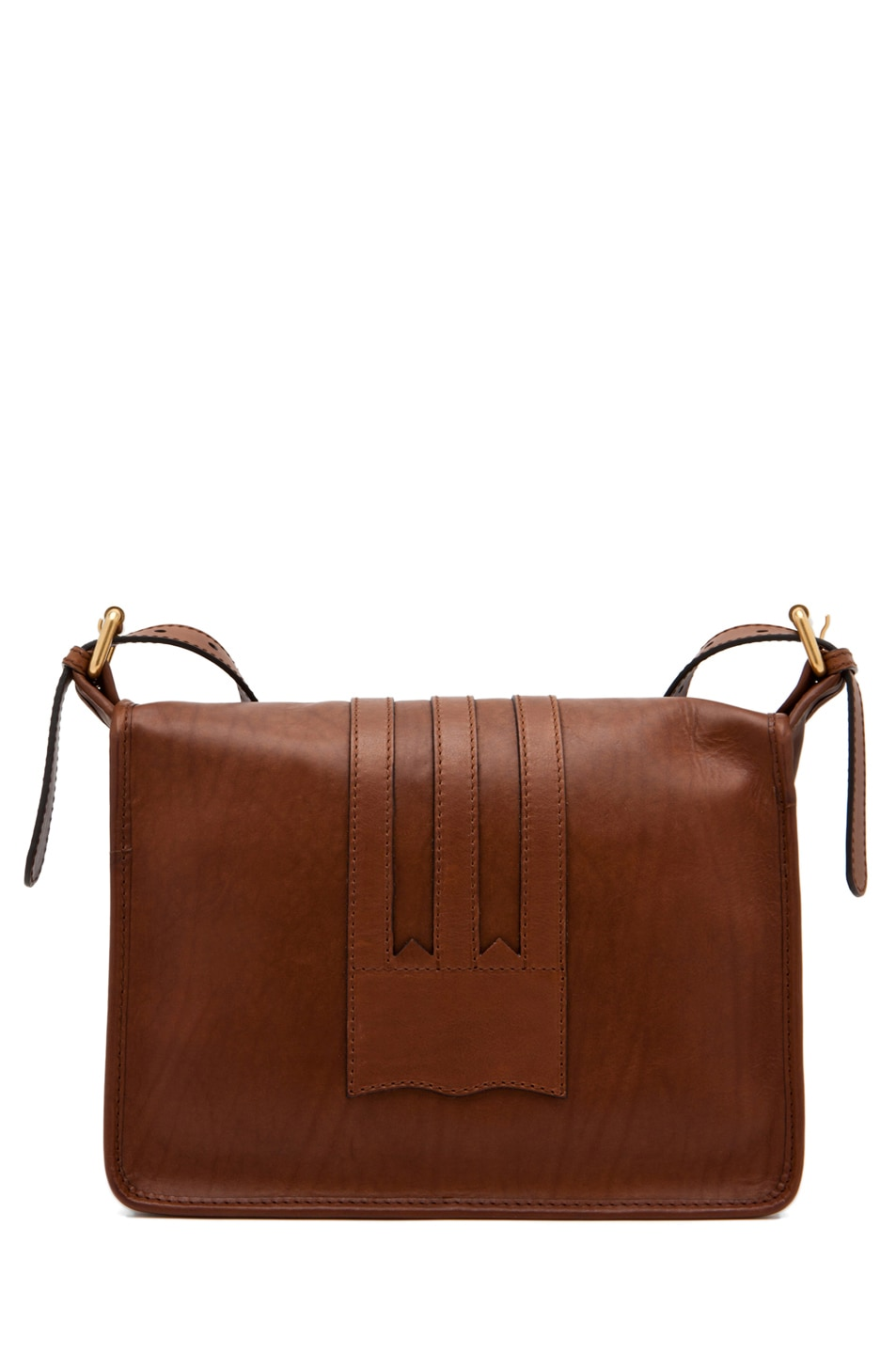 Image 2 of Alexander McQueen Crossbody Satchel in Cigar