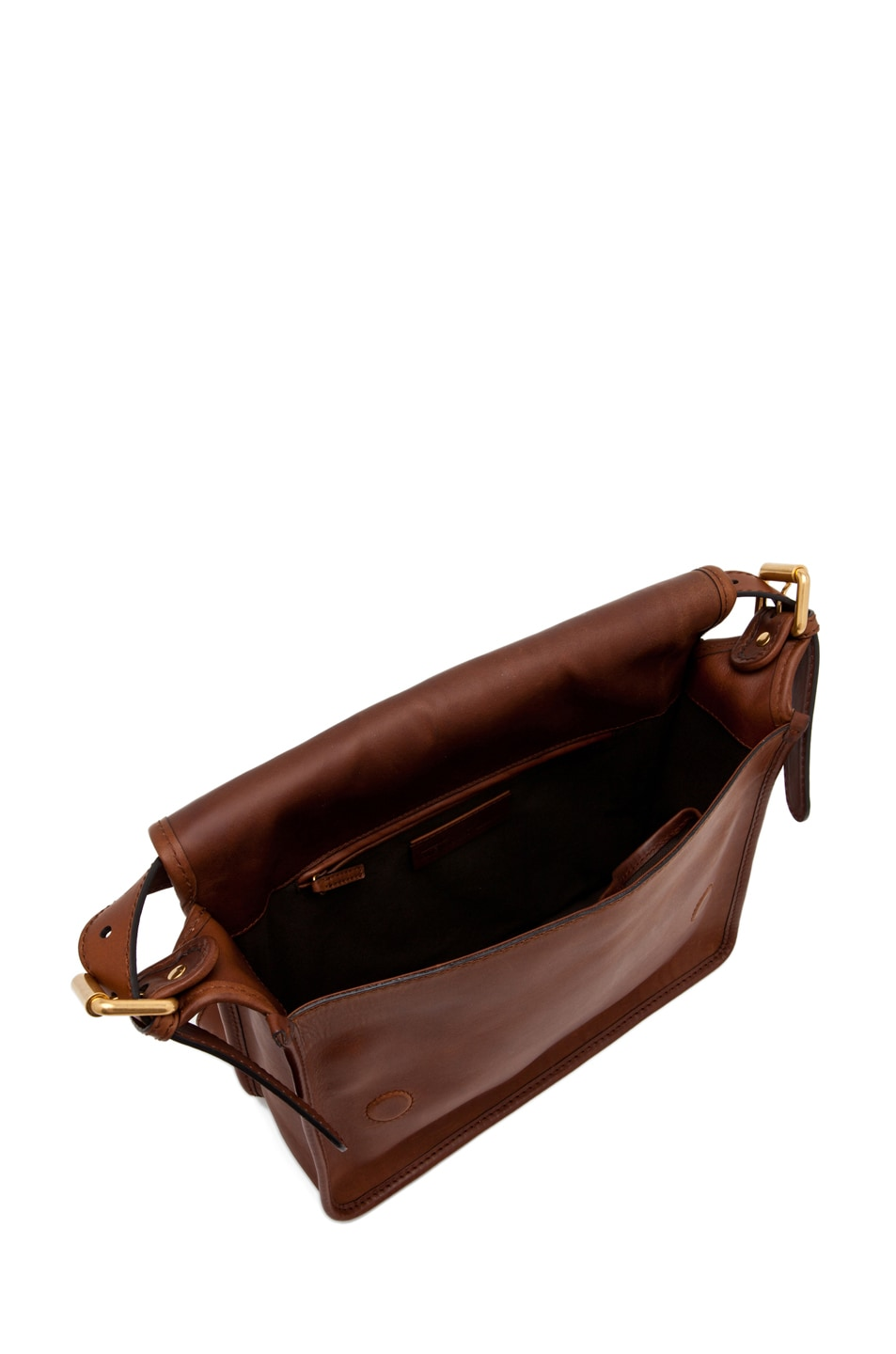 Image 4 of Alexander McQueen Crossbody Satchel in Cigar
