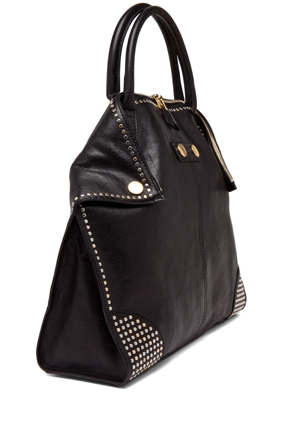 Image 2 of Alexander McQueen Tote in Black