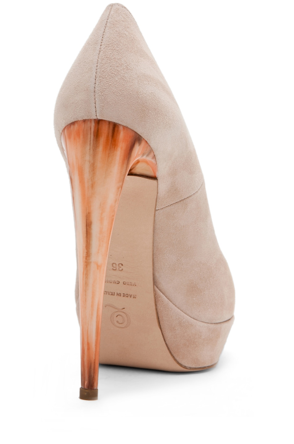 Image 3 of Alexander McQueen Pump in Pale Pink