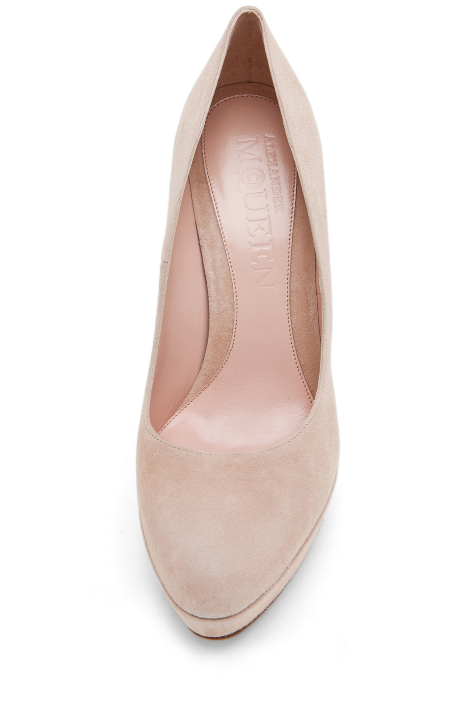 Image 4 of Alexander McQueen Pump in Pale Pink