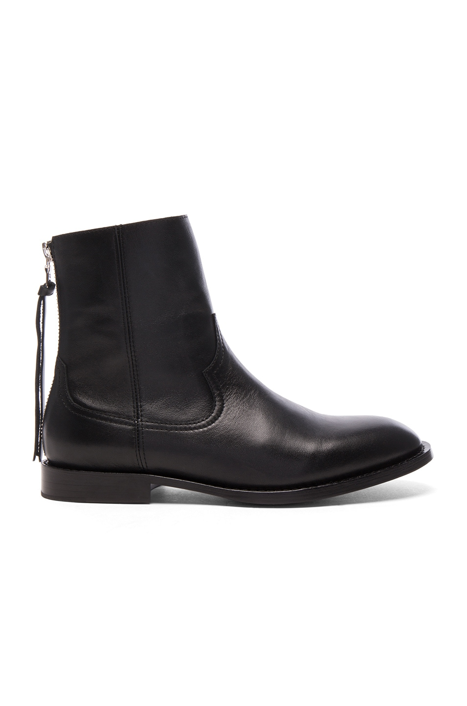 Image 2 of Amiri Leather Shane Boots in Black Leather