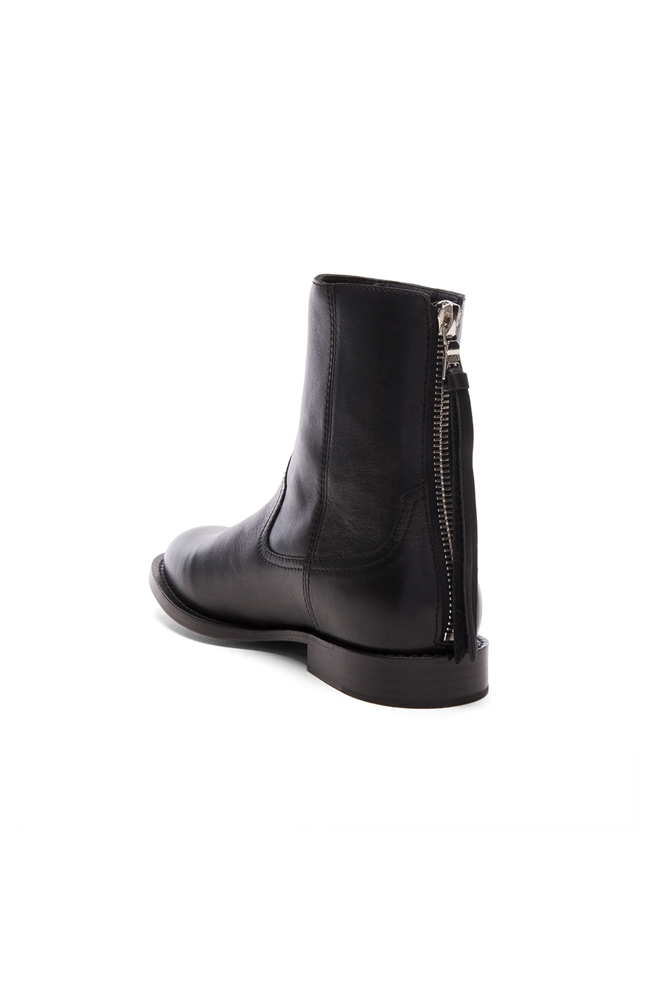 Image 3 of Amiri Leather Shane Boots in Black Leather