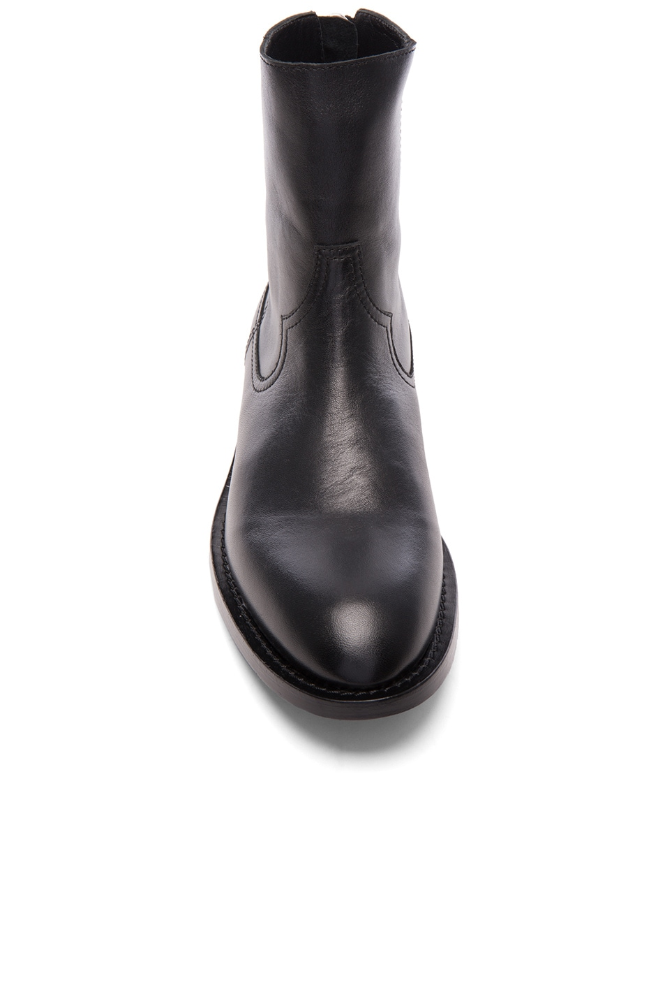 Image 4 of Amiri Leather Shane Boots in Black Leather